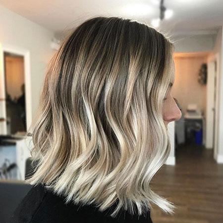 Balayage, Ash, Short Hairstyles, Pixie Cut, Lob