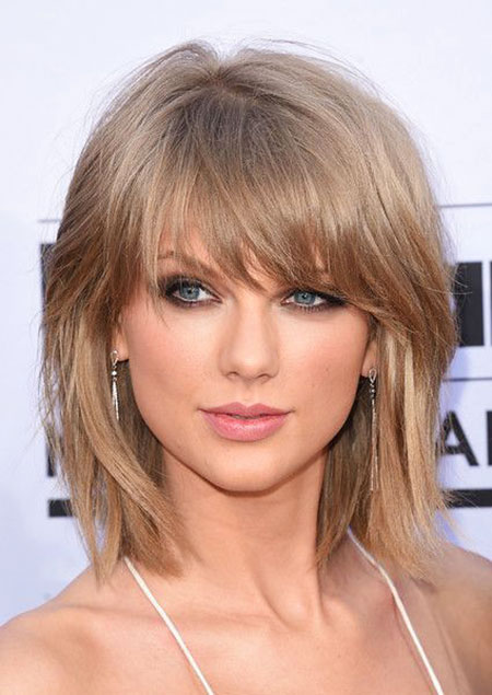 Taylor, Swift, Summer, Short, Bob, Bangs