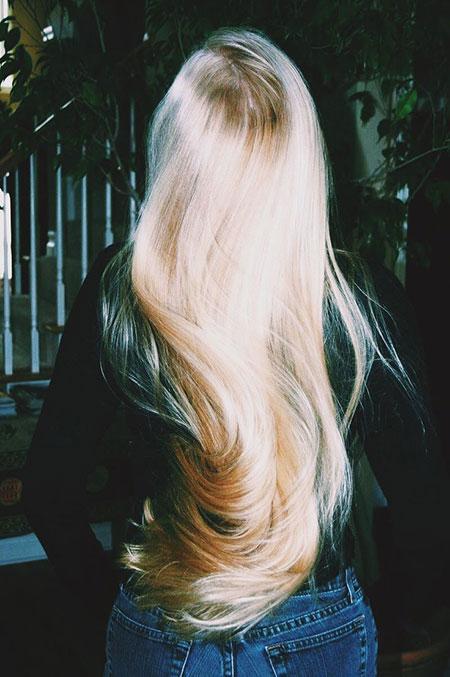 Blonde Wavy Very Pink Long Balayage