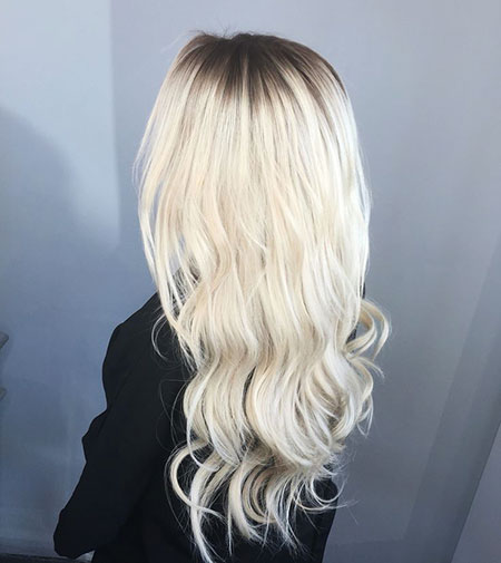 Blonde, Balayage, White, Platinum, İce