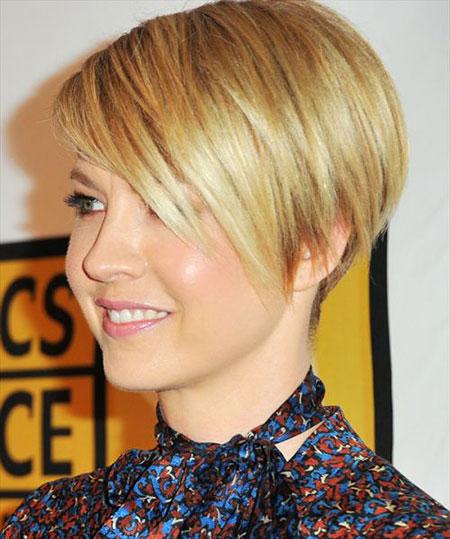 Short Hairstyles, 2017, Women, Pixie Cut, Over, Jenna, Elfman