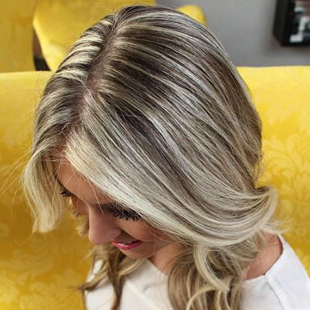 Blonde Hairstyles, Highlights, Balayage, Brown