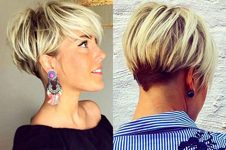 Short Hairstyles, Women, Pixie Cut, Cuoco, Modern, Layered