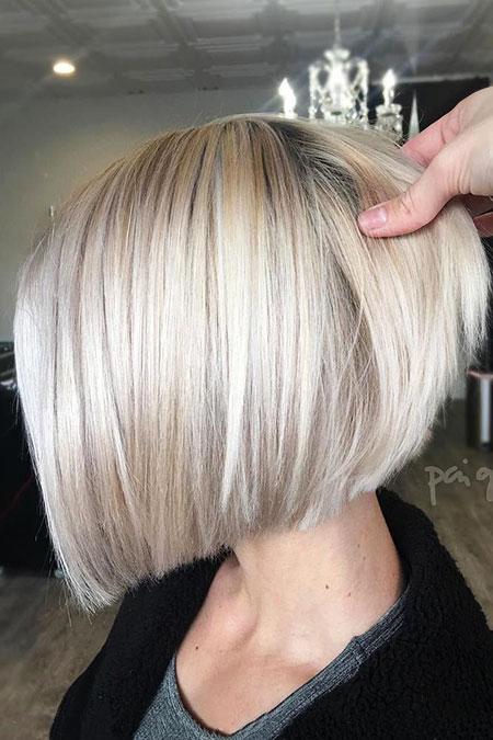 Blonde Bob Hairstyles, Blonde Hairstyles, Short Hairstyles, Silver