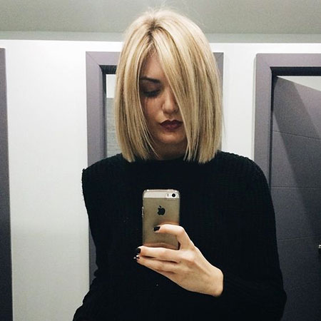Blonde Bob Hairstyles, Blunt, Blonde Hairstyles, Women