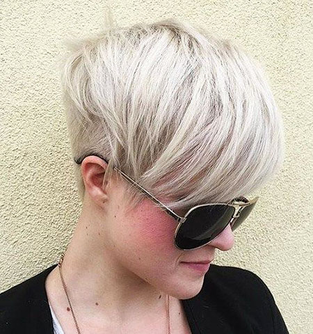 Short Hairstyles, Pixie Cut, Blonde Hairstyles, Women, Undercut