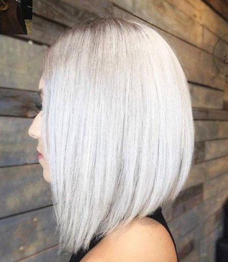 Blonde Hairstyles, Blonde Bob Hairstyles, Silver