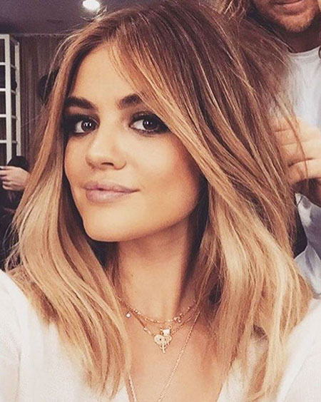 Lucy, Hale, Blonde, Shaggy, Shade, Medium, Khloe, Kardashian, Fade