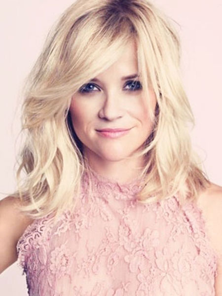 Reese, Blonde, witherspoon, Wavy, Trends, Stone, Shaggy