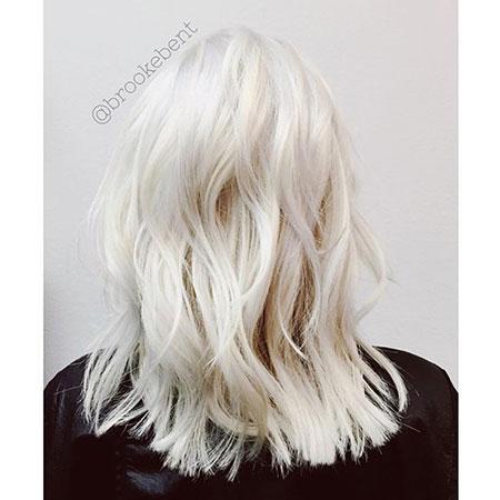 Blonde, Ice, White, Platinum, Frisyrer, Balayage, Baby