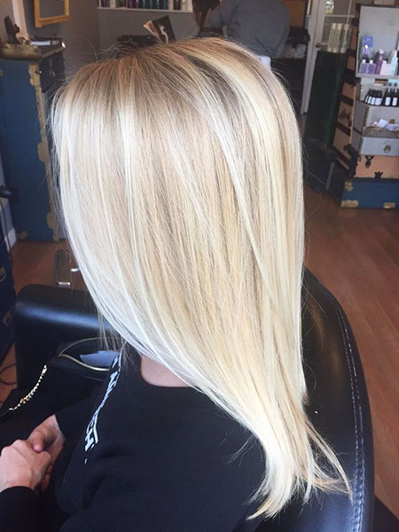 Blonde, Balayage, Highlights, Bob, Lowlights, Long, Light, Bright