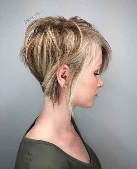 Short, Pixie, Blonde, Layered, Cute, Thin, Long, Highlights