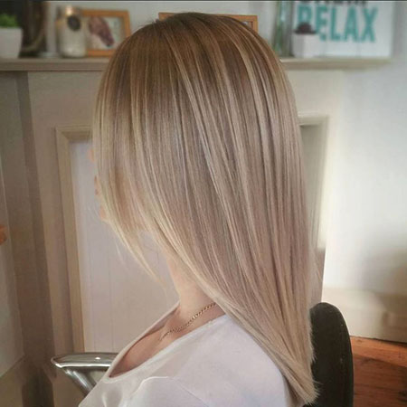 Blonde Balayage Highlights Part Natural Medium Brown