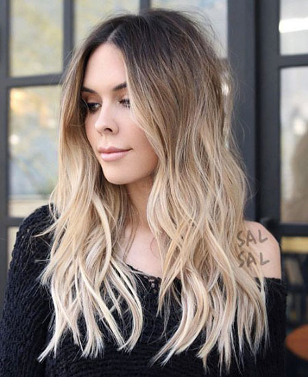 Blonde Ombre Balayage Up Trends Summer Daily Coloring