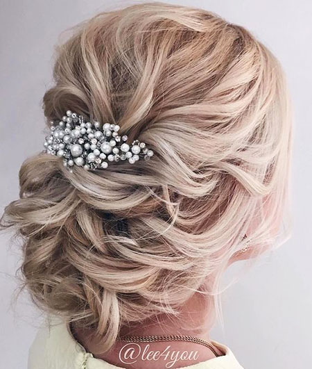 Wedding, Updo, Weddings, Updos, Party, One, Guest, Classic, Bride