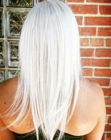 Blonde White Platinum Up Natural Icy