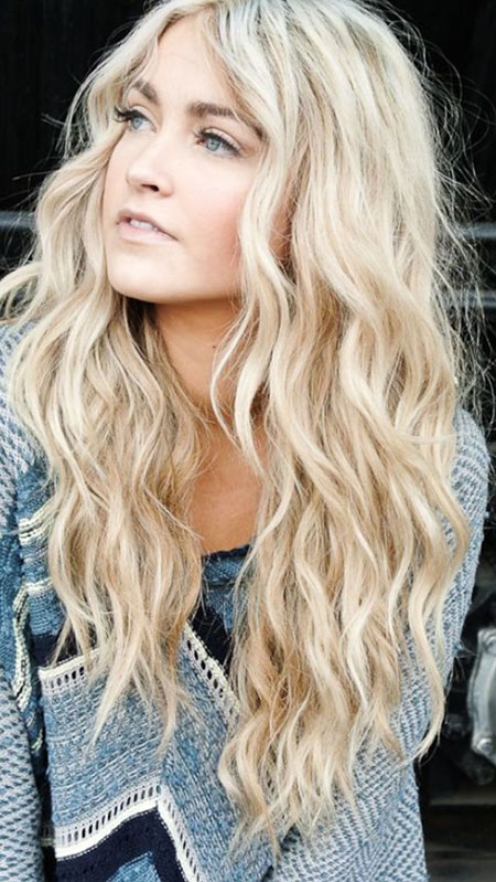 Blonde Waves Women'S Should Short Curls Colors Be