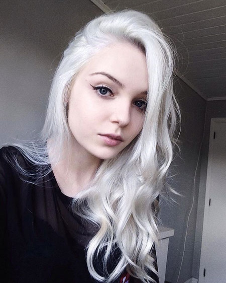 White, Silver, Dye, Colors, Blonde