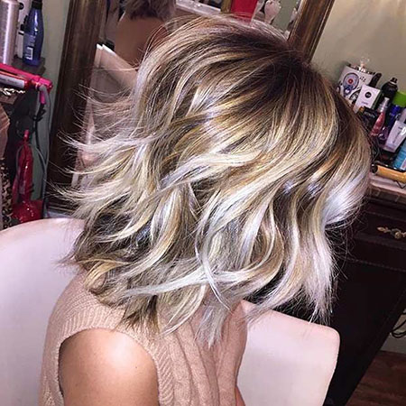 Blonde Hairstyles, Balayage, Medium, Length, Ash, Women
