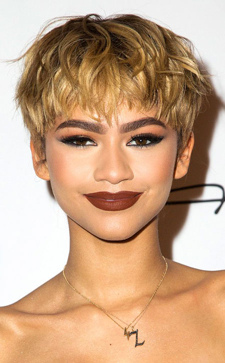 Short Hairstyles, Pixie Cut, Blonde Hairstyles, Women, Wig