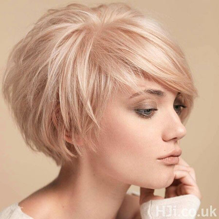 20 Short Blonde Fringe Hairstyles 2017 – 2018 – Blonde Hairstyles 2017