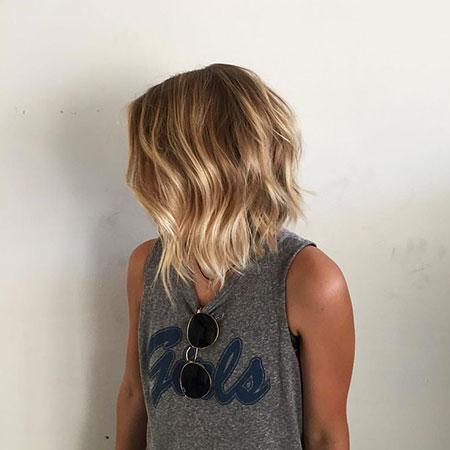 Blonde Bob Hairstyles, Blonde Hairstyles, Balayage, Waves