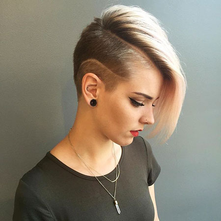 Short Hairstyles, Very, Undercut, Pretty, Pixie Cut, Patterns