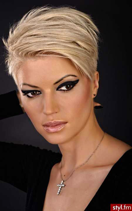 Short Hairstyles, Blonde Hairstyles, Very, Thin, Kapsels