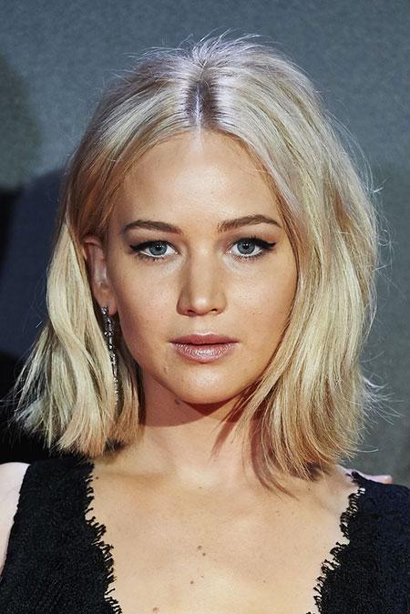 Blonde Bob Hairstyles, Short Hairstyles, Jennifer, Jennifer Lawrence