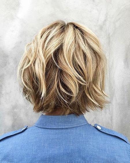 Blonde Bob Hairstyles, Balayage, Layered, Blonde Hairstyles