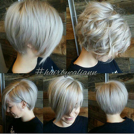 Short Hairstyles, Blonde Bob Hairstyles, Women, Trends, Pretty