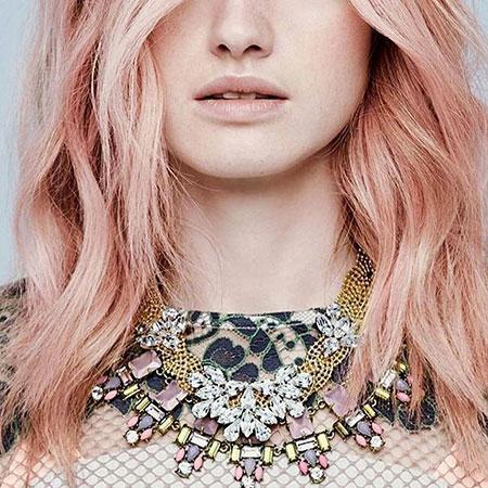 Pastel, Blonde Hairstyles, Rose, Pink, Gold, Violet, Trendy, Tones