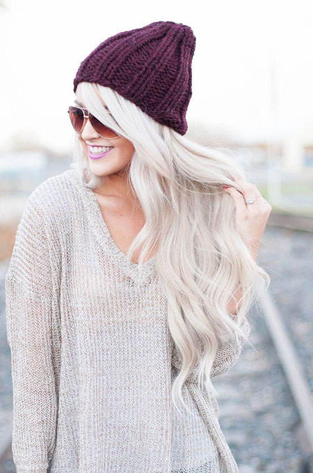 White Headband Beanie Warmer Tips One Knitting Knitted