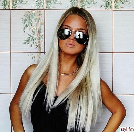 Blonde Tan Ombre Dark Bleached