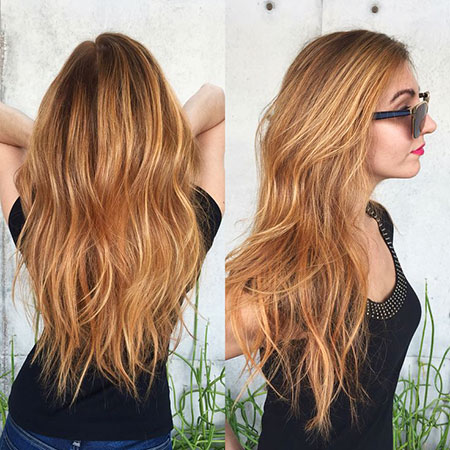 Blonde, Balayage, Strawberry, Summer, Ombre, Mermaid, Long