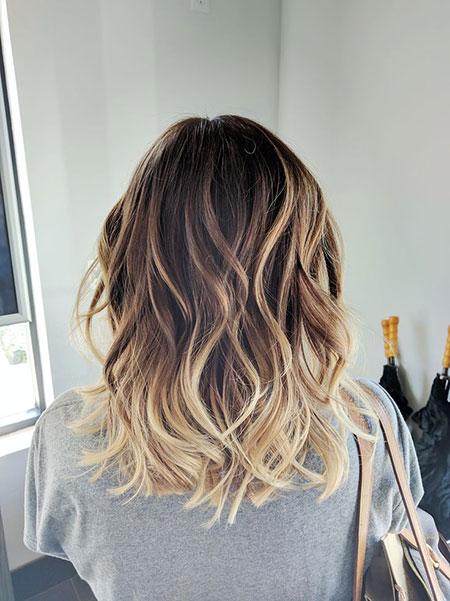Balayage, Length, Blonde Hairstyles, Trend, Tran, Tone