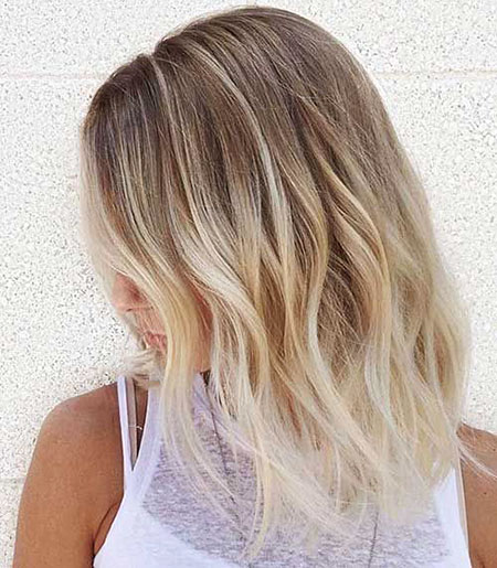 Blonde Hairstyles, Ombre, Short Hairstyles, Balayage, Textured