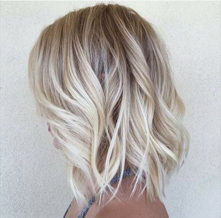 Blonde Hairstyles, Balayage, Women, Wavy, Trendy, Short Hairstyles, Salon