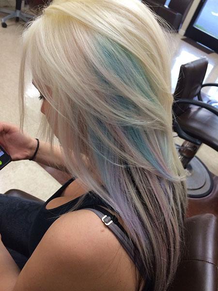Blonde, Pastel, Highlights, Platinum, Lowlights