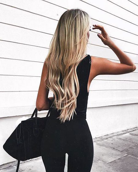 Fashion, Trends, Ombre, Long, Goals, Blonde, Balayage