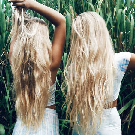 Blonde Easy Balayage Wild Waves Summer Ombre Natural
