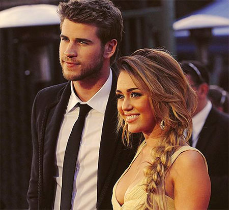 Miley, Cyrus, Hemsworth, Messy, Cute, Braids