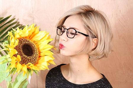Short Hairstyles, Girl, Pixie Cut, Blonde Bob Hairstyles, Bangs