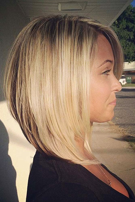 Blonde Bob Hairstyles, Blonde Hairstyles, Women, Medium