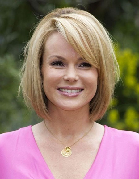 Short Hairstyles, Women, Older, Blonde Bob Hairstyles