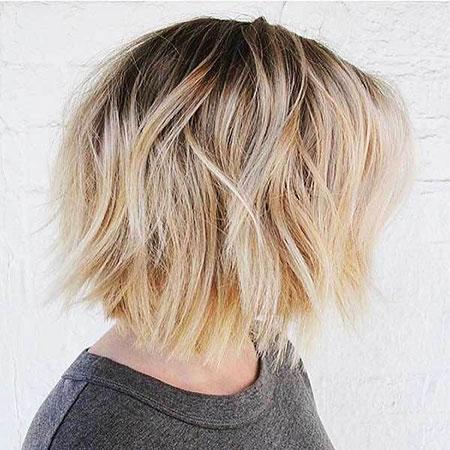 Blonde Bob Hairstyles, Blonde Hairstyles, Balayage, Short Hairstyles