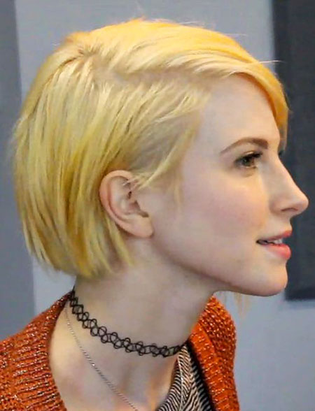Short Hairstyles, Blonde Bob Hairstyles, Pixie Cut, Blue