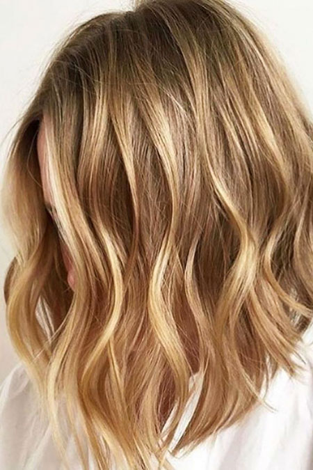 Blonde Hairstyles, Balayage, Short Hairstyles, Highlights