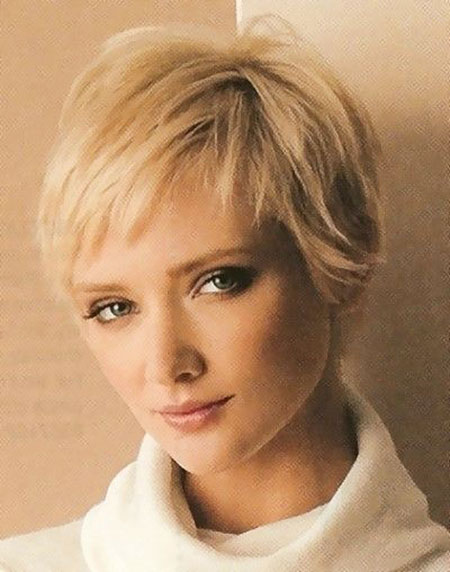 Short Hairstyles, Thin, Fine, Women, Over, Locks