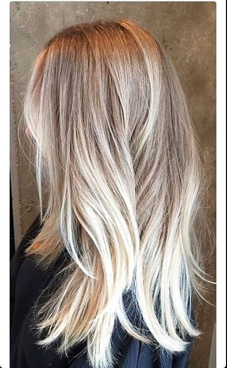 Blonde, Medium, Choppy, Balayage, Womens, Women, Very